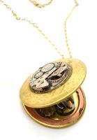 Steampunk Locket Face 2 by teatimeinc