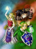 Triforce by Ladyfirefly
