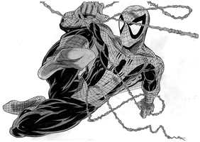 Todd McFarlane Spiderman by donchild