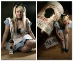 Alice - Drink Me. by hallopino