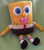 Spongebob Plushiepants by fromzombieswithlove