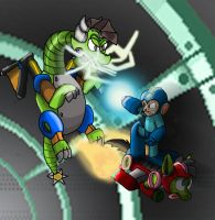 Flying on a Pony, Fighting a Dragon by AtomicPhoton