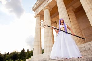 At the temple by Giorgiacosplay