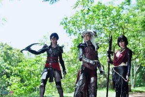 COSPLAY - Dragon age II by MarineOrthodox