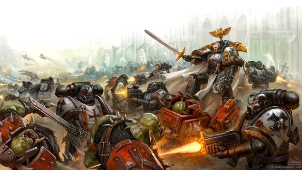 Crusaders of Dorn by DevBurmak