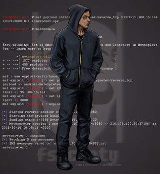 Mr. Robot - Elliot Alderson by electroradio
