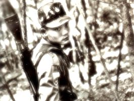 Karen soldier with RPG-7 in Myanmar by mercenario1945