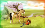 .:Whimsical Wisterias:. by Copperhaven