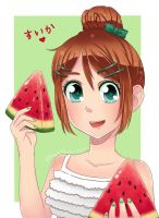 Yummy Watermelon by HappyClementine