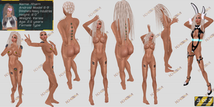 Kham Character Reference 3 of 3 - Second Life by Jace-Lethecus