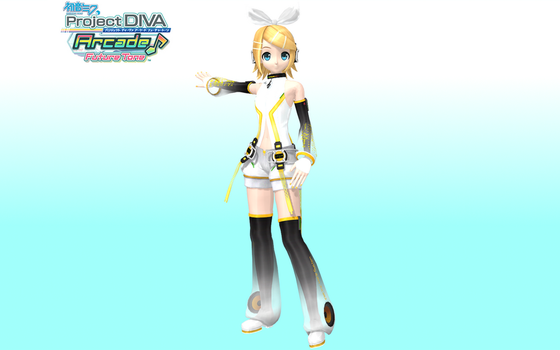 Project Diva Arcade Future Tone Append Rin by Luke-Flame