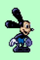 Oswald the Lucky Rabbit Sprite by meepmeep189
