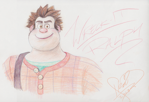 Wreck-It-Ralph-Color-Pencil by Ikaripoid