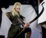 Mirkwood elf - Action Stock by Liancary-art