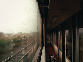 Lonely train by FrantisekSpurny