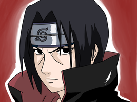 Itachi color by MisaChan23