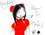 Shoun-Li Teenager MSPaint Sketch by Choco-la-te