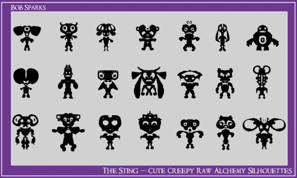 Stingy Alchemy Silhouettes by BobStrife