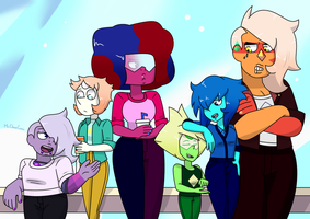 The Punk Gems by MrChaseComix
