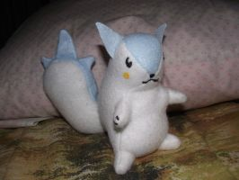 Pachirisu Plush by Armadeo