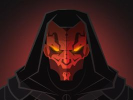 Darth Maul by InkTheory