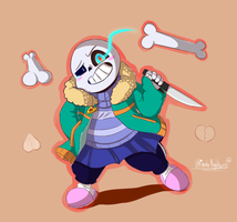 Chara!Sans (My Own Version!) by UltimateNightcore