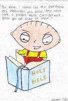 Stewie from family guy... by osuwari4646