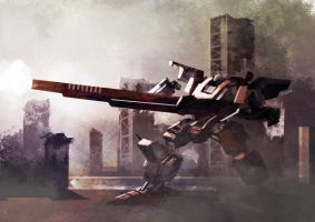 Armored Core Again by weaselpa
