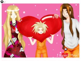 Asakura: I Heart You by complicatedmind21