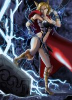 Female Thor by Raichiyo33