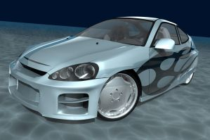 2002 Honda Insight Revisited 2 by ragingpixels