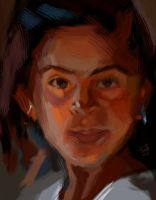 Study of  a Scott Dubrick's painting by Naviruto