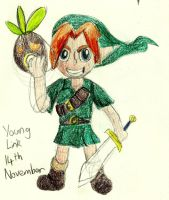 14th November: Young Link by patrick20cool