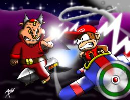 Diddy Kong Racing DS Entry 1 by Arbok-X