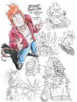 Futurama  Zetto's Phillip J. Fry by Laborde91