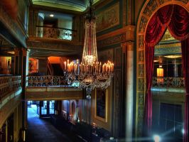 Detroit Opera House in HDR by Cruzweb