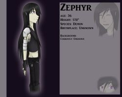 Profile: Zephyr by celestialDeception