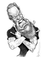 Metallica - James Hetfield by Steveroberts