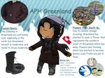 [APH OC] Greenland clothes explaining by poi-rozen