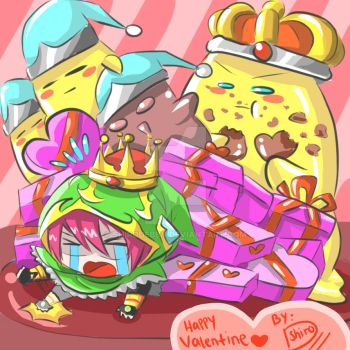 Happy Valentine Everyone XDXD by shirodebby