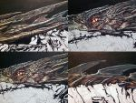 Smaug Painting work in progress (detail) by benke33