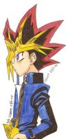 Yami Yu-Gi-Oh Colourt by usagisailormoon20