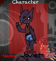 Janet the Gengar - Pokemon Hollows by Joltimeon