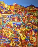 Colorful India by Evilpainter