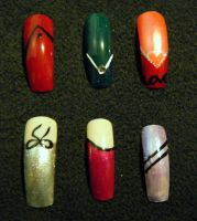 Nail Set 4 by Kelly-Amber