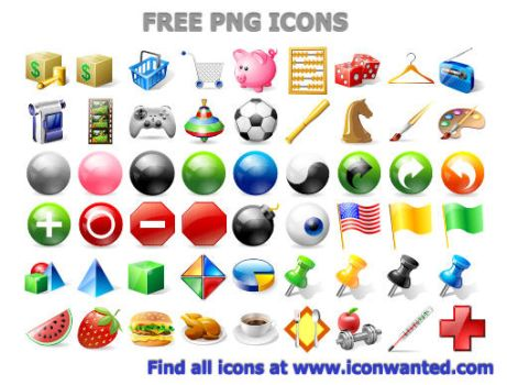 Free PNG Icons by Ikonod