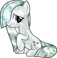 Galaxy Marble Pie by DigiRadiance