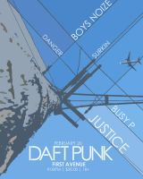 Daft Punk Poster by EvilZombie3