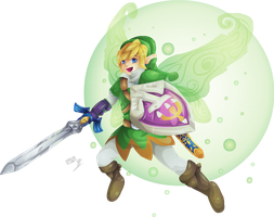 Fairy Link by Lady-of-Link