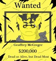 McGreger Wanted Poster by McGreger16